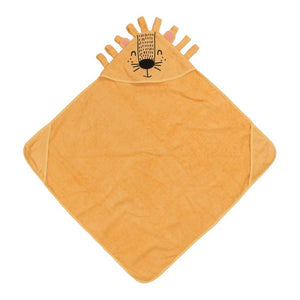 Posh Peanut Lion Hooded Towel