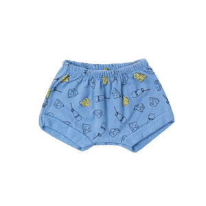 Milk and Cheese Terry Shorts