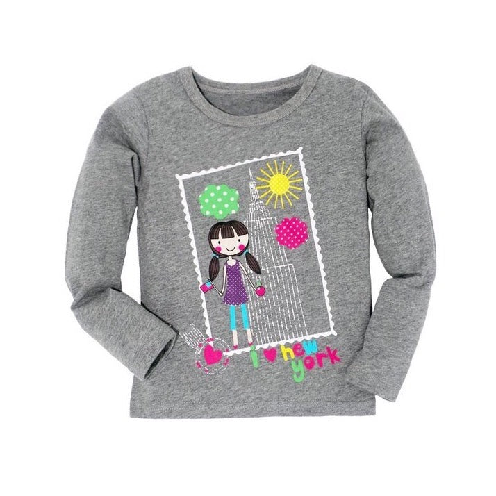 NY City Girl Long Sleeve T-Shirt