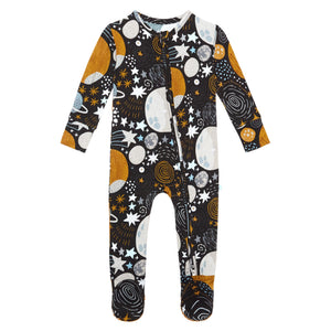 Posh Peanut Nova Footie Zippered One Piece