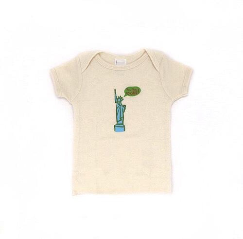 New York Rocks Organic Baby T-Shirt