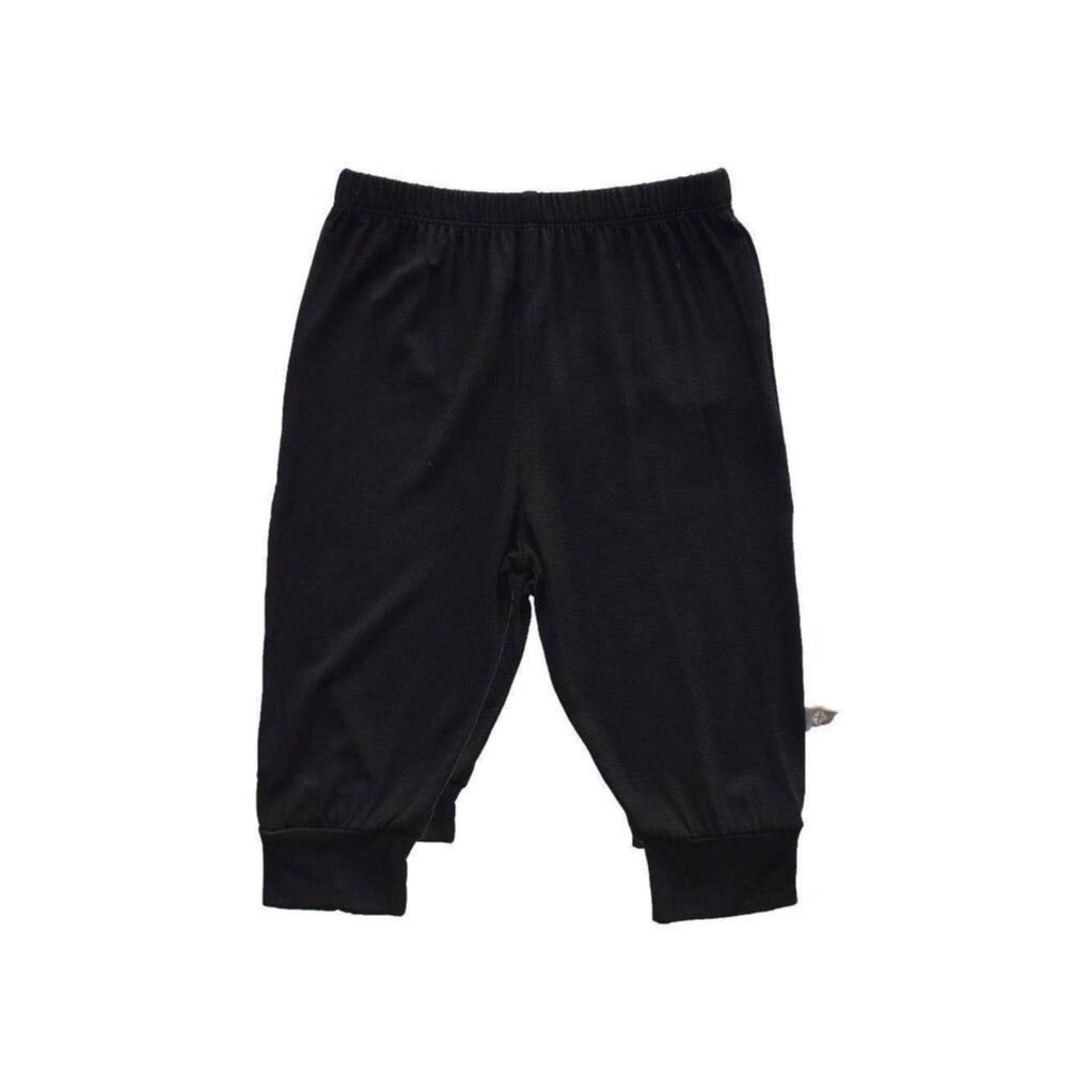 Baby Solid Jogger Pants in Midnight Black