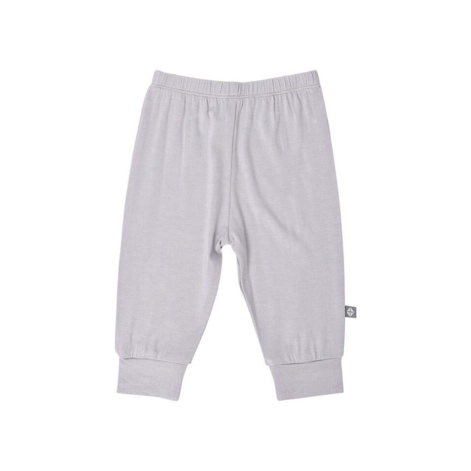 Baby Solid Jogger Pants in Storm Grey