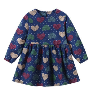 Pieces Of My Heart Baby Dress