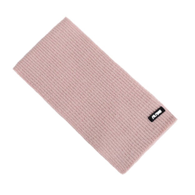 Ribbed Scarf in Pink