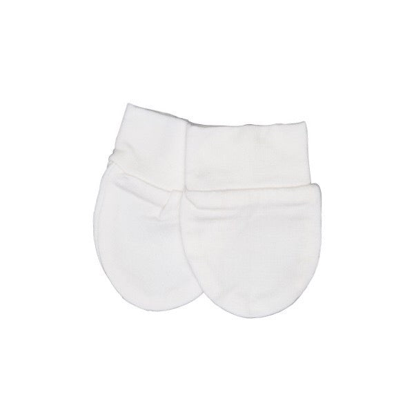 Kyte Baby Scratch Mittens in Cloud