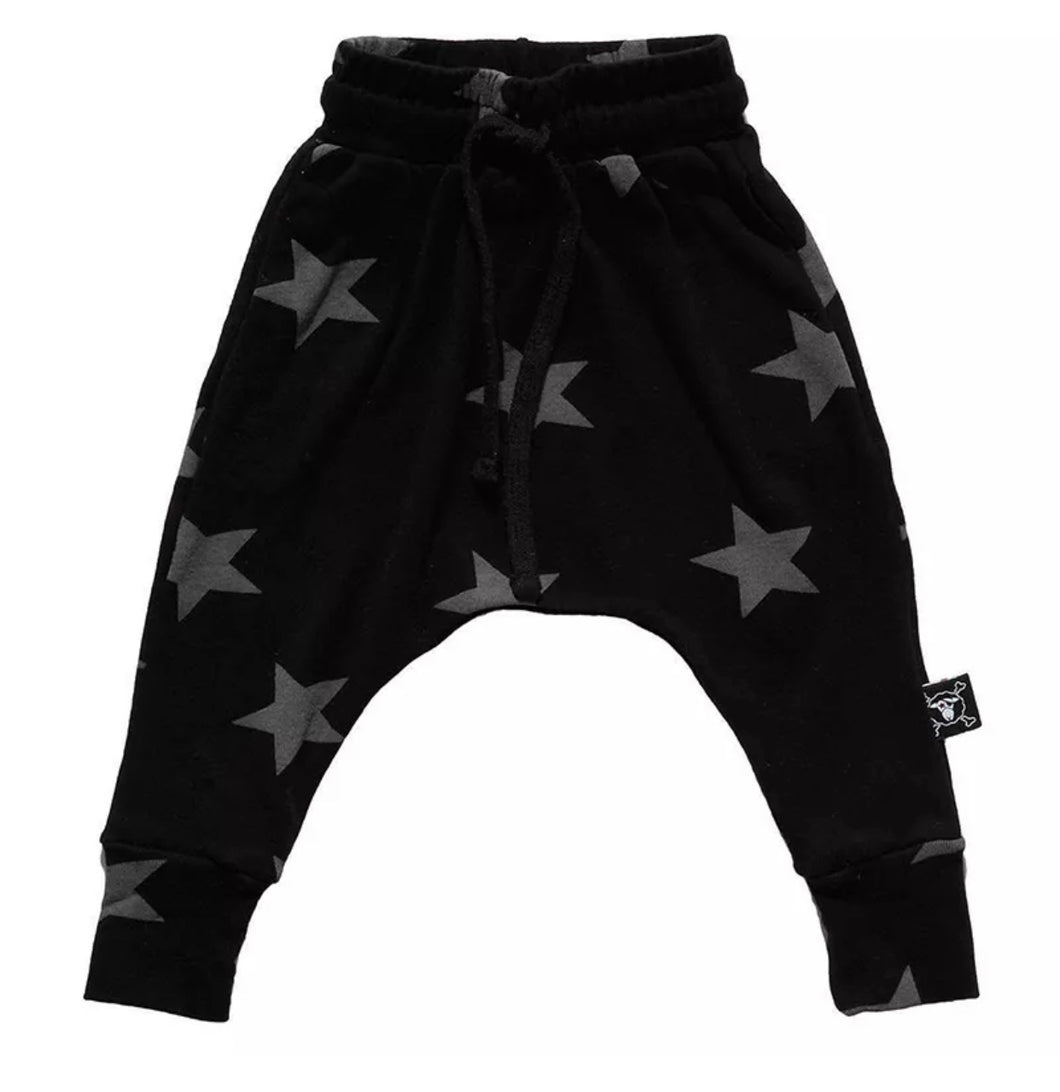Starboy Harem Pant in Black
