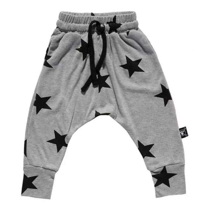 Starboy Harem Pant in Gray
