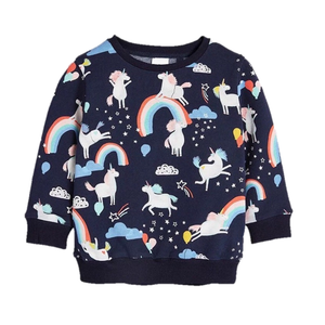 Unicorn And Rainbows Baby Sweatshirt