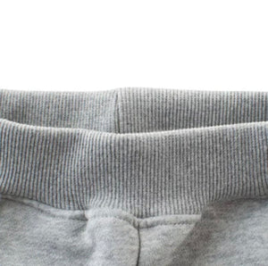 Varsity Jogger Sweatpants in Grey