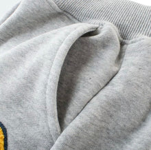 Load image into Gallery viewer, Varsity Jogger Sweatpants in Grey