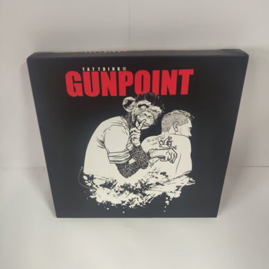 GUNPOINT ORIGINALS: Cheeky monkey 20 x 20 cm canvas print
