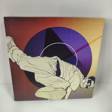 GUNPOINT ORIGINALS: Breakdance 20 x 20 cm canvas print