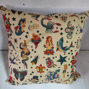 Classic tattoo cushion