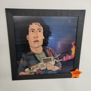 3D Ripley framed art
