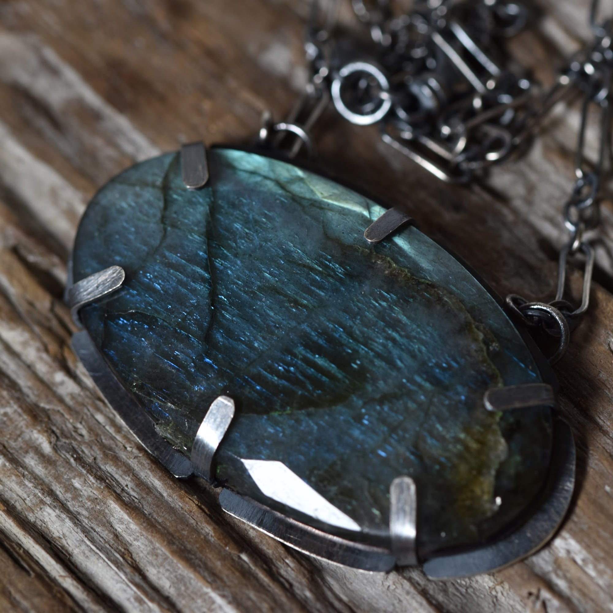 Grateful Labradorite necklace