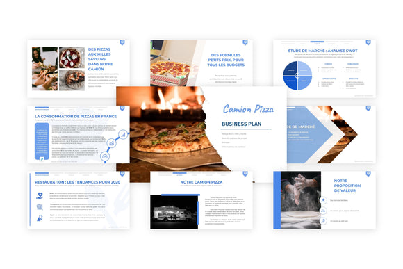 Camion Pizza Business Plan modele