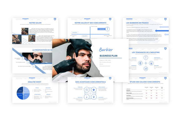 Barbier Business Plan modele