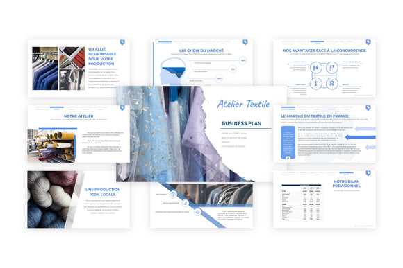Atelier Textile Business Plan modele