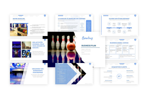 Bowling Business Plan modele