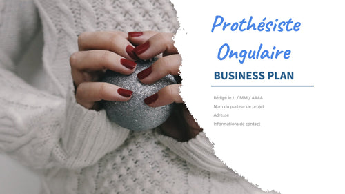 business plan onglerie