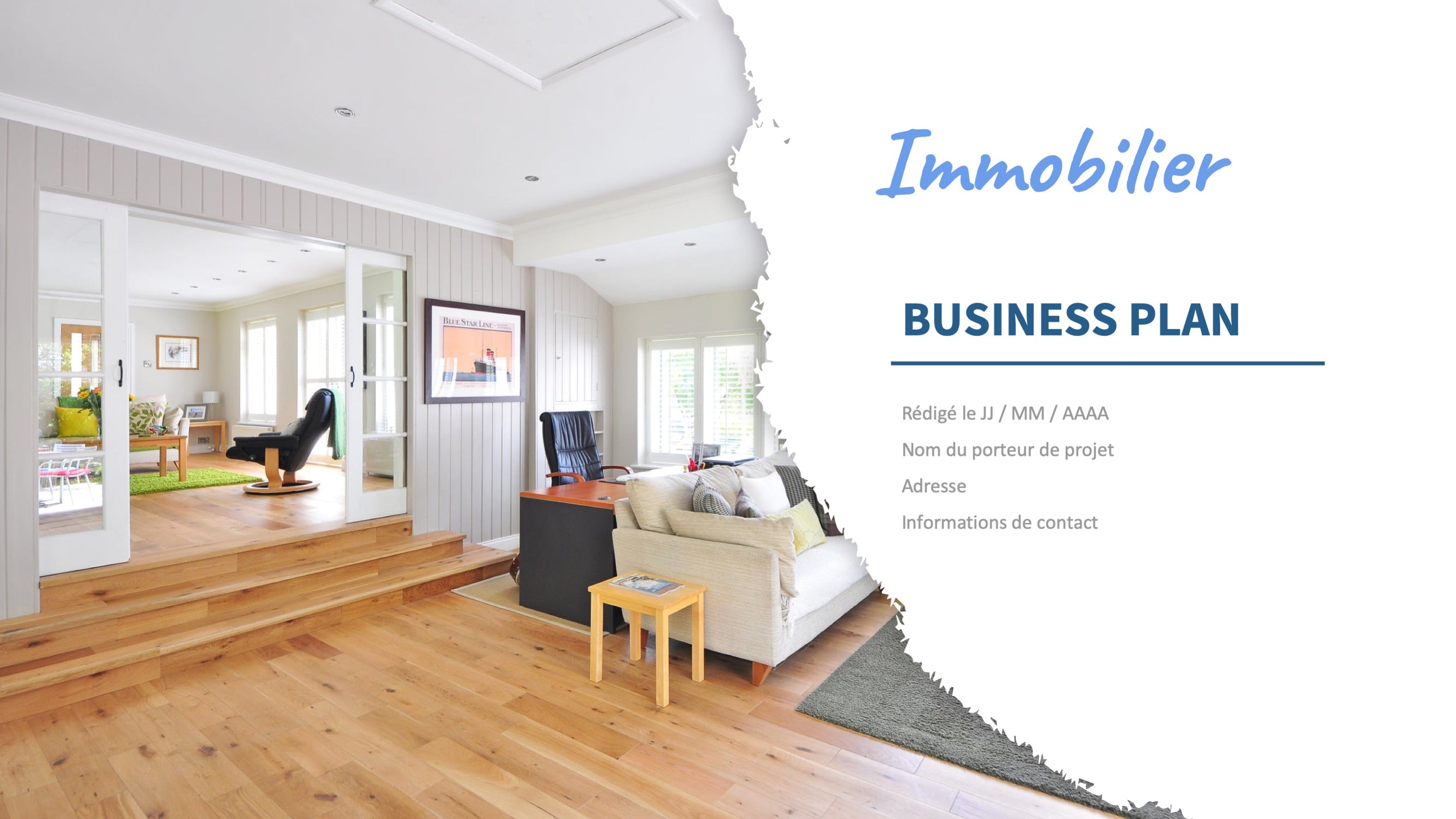 business plan immobilier
