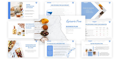 modele business plan épicerie fine pdf