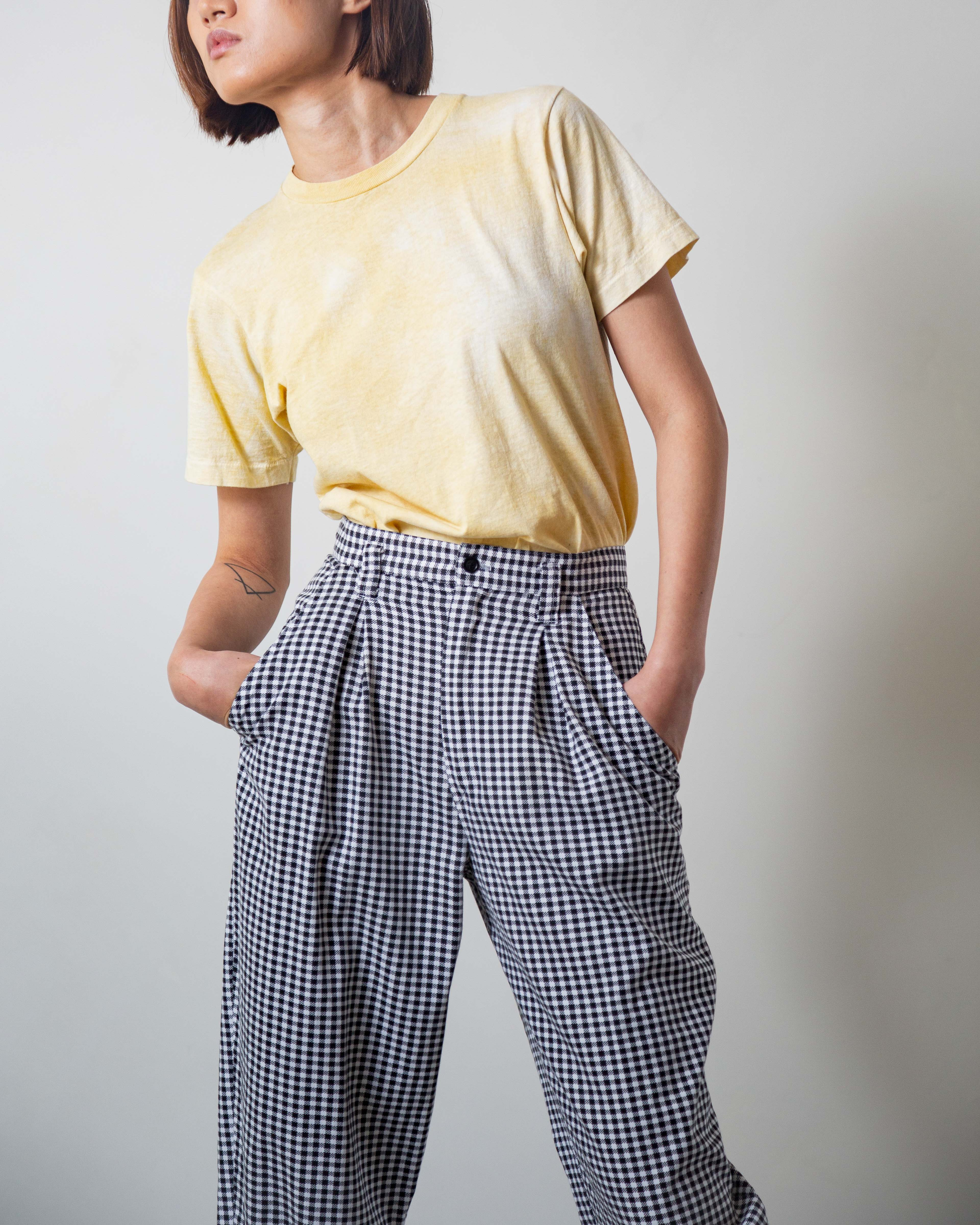 Houndstooth Chef Pant 27W