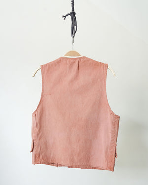 Reworked Vintage Hunting Vest