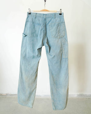 Indigo + Rosemary Dyed Vintage Painter Pant