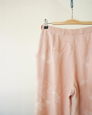 Avocado Dyed Pleated Pant 30W