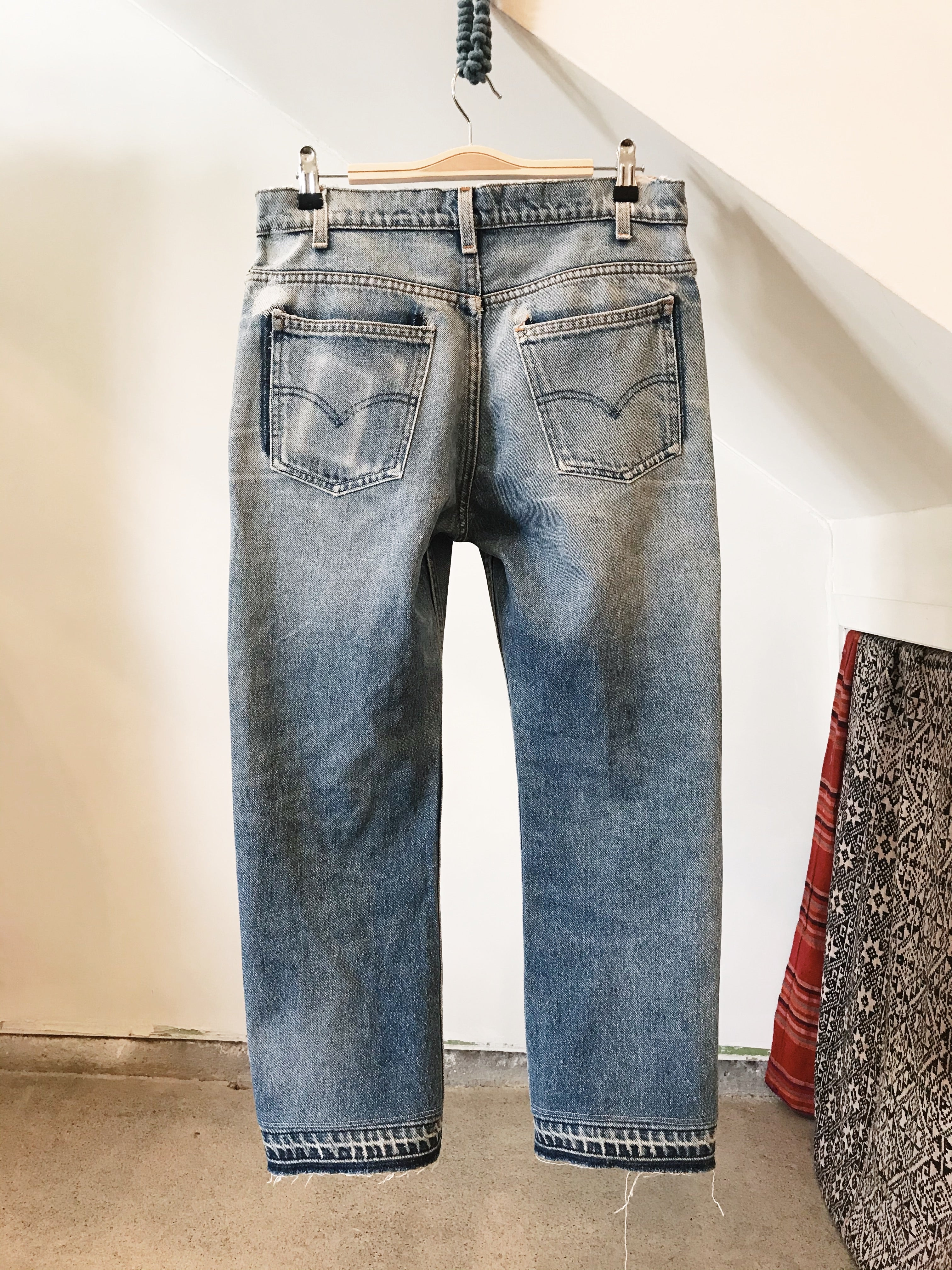 Reworked and Repaired Denim 30W