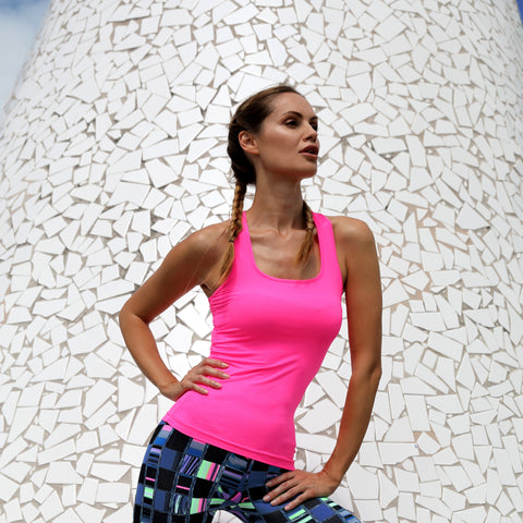 Tank Top Workout Activewear Pink