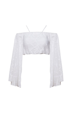 LUNA WIDE SLEEVES BLOUSE