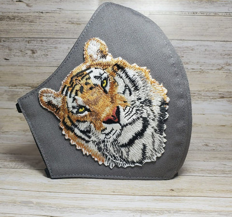 Tiger Mask Made in USA, Face Mask
