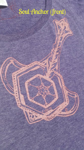 """Soul Anchor - Ladies' Scoop Neck Blend Tee"