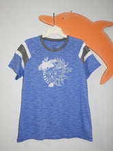 "Load image into Gallery viewer, ""Ocean Love"" (w/whale tail)-Fanatic Tee (women)"
