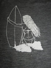 Load image into Gallery viewer, Surfer Girl-Fanatic Tee (women)
