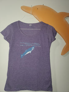 """Tiny Treasure"" - Ladies' Scoop Neck Blend Tee"