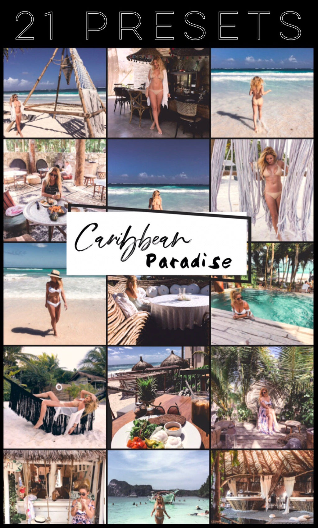 Caribbean Paradise Collection - Lightroom Presets Mobile - Vanilla Sky Dreaming