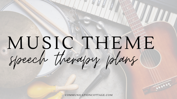 Music Speech Therapy Plans