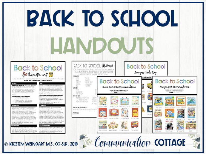 Back to School Theme Guide (PDF)