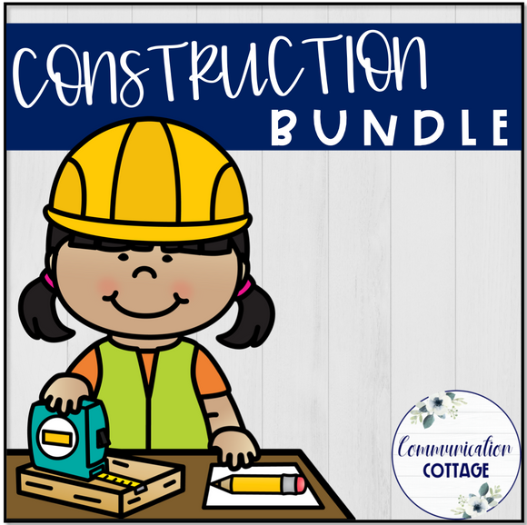 Construction Theme Digital Bundle