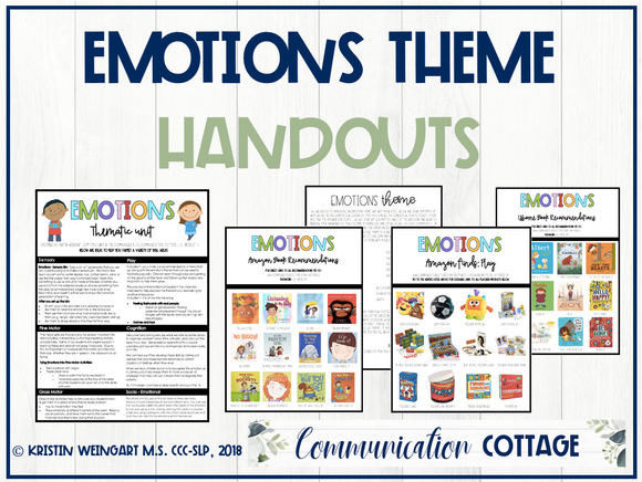 Emotions Theme Guide + Recs