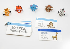 Zoo Movement Cards