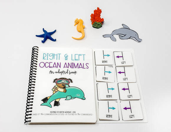 Right and Left Ocean Animals: Adapted Book
