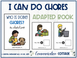 I Can Do Chores: Adapted Book