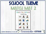Back to School Match Mat 2