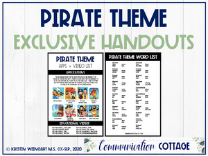 Pirate Exclusive Handouts