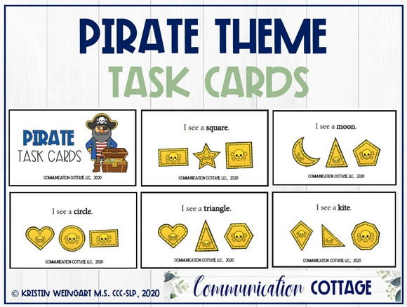 Pirate Task Cards